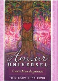 Amour universel : cartes oracle de guérison