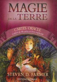 Magie de la terre : cartes oracle : coffret de 48 cartes et livre explicatif