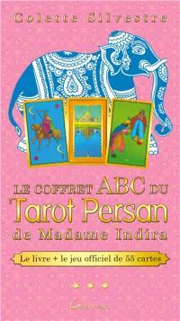 Le coffret ABC du tarot persan de madame Indira : le livre + le jeu officiel de 55 cartes