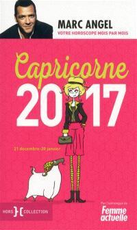 Capricorne 2017 : 21 décembre-20 janvier : votre horoscope mois par mois