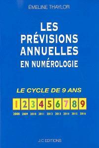 Les prévisions annuelles en numérologie : le cycle de 9 ans