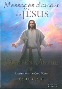 Messages d'amour de Jésus : cartes oracles