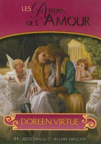 Les anges de l'amour : cartes oracle : 44 cartes oracle et un livre explicatif