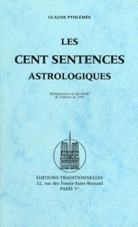 Les cent sentences astrologiques