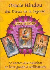 Oracle hindou des dieux de la sagesse : 22 cartes divinatoires et leur guide d'utilisation