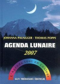 Agenda lunaire 2007 : l'agenda tout en couleur