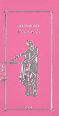 Balance (23 septembre-22 octobre)