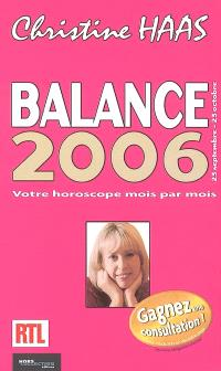 Balance 2006 : 23 septembre-23 octobre