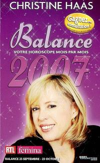 Balance 2007 : 23 septembre-23 octobre