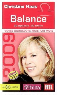 Balance 2009 : 23 septembre-23 octobre
