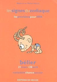 Bélier : 21 mars-20 avril : caractère, chance, amour, les prévisions pour 2006