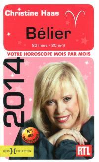 Bélier 2014 : 20 mars-20 avril : votre horoscope mois par mois