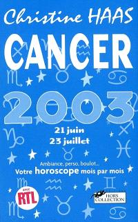 Cancer 2003