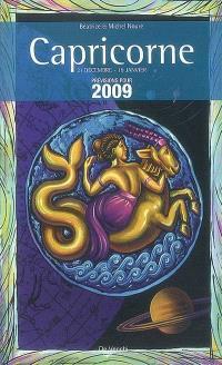 Capricorne : 21 décembre-19 janvier : prévisions pour 2009