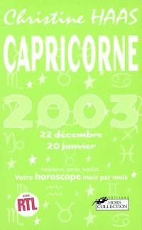 Capricorne 2003