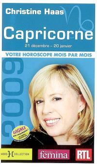 Capricorne 2009 : 21 décembre-20 janvier