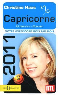 Capricorne 2011 : 21 décembre-20 janvier : votre horoscope mois par mois