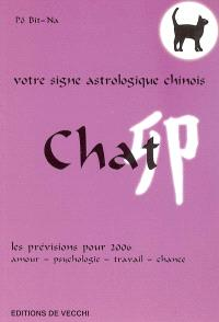 Chat : votre signe astrologique chinois en 2006