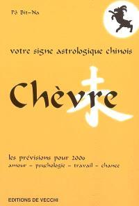 Chèvre : votre signe astrologique chinois en 2006