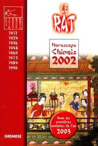 Horoscope chinois 2002 : le rat