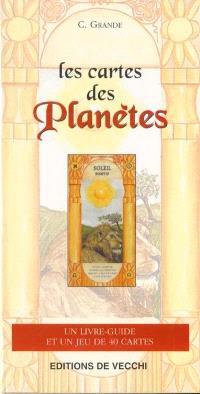 Les cartes des planètes