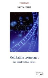 Méditation cosmique : des planètes et des signes