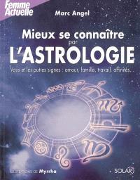 Mieux se connaître par l'astrologie : vous et les autres signes : amour, famille, travail, affinités...