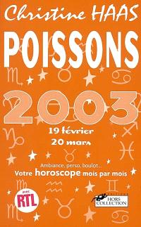 Poissons 2003
