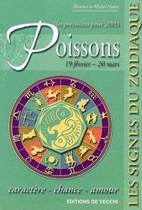 Poissons, 19 février-20 mars, les prévisions pour 2003 : caractère, chance, amour