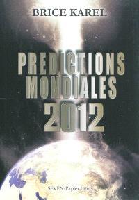 Prédictions mondiales 2012