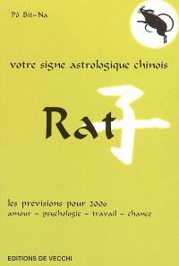 Rat : votre signe astrologique chinois en 2006