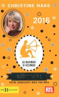 Sagittaire 2016 : 22 novembre-21 décembre : votre horoscope mois par mois