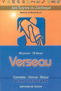 Verseau : 20 janvier-18 février : caractère, chance, amour, les prévisions pour 2005