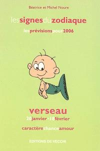 Verseau : 20 janvier-18 février : caractère, chance, amour, les prévisions pour 2006