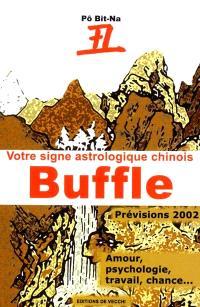Votre horoscope chinois en 2002 : Buffle