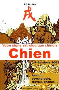 Votre horoscope chinois en 2002 : Chien