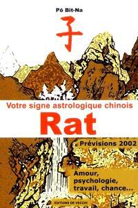 Votre horoscope chinois en 2002 : Rat