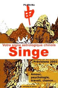 Votre horoscope chinois en 2002 : Singe