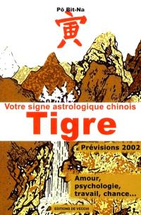 Votre horoscope chinois en 2002 : Tigre