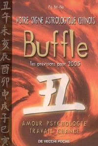 Votre signe astrologique chinois en 2005 : buffle