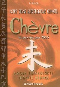 Votre signe astrologique chinois en 2005 : chèvre