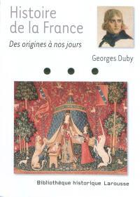 Histoire de la France des origines à nos jours