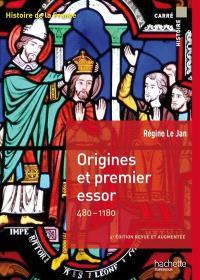 Histoire de la France, Origines et premier essor, 480-1180