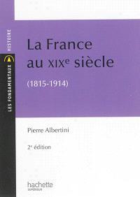 La France au XIXe siècle (1815-1914)