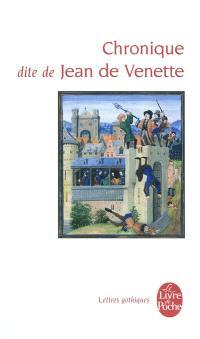 Chronique dite de Jean de Venette