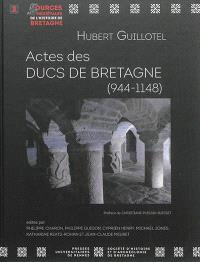 Actes des ducs de Bretagne (944-1148)