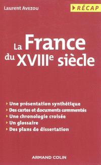 La France du XVIIIe siècle