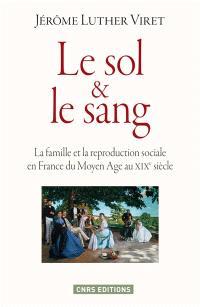 Le sol et le sang : la famille et la reproduction sociale en France du Moyen Age au XIXe siècle