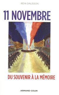 11 novembre : du souvenir à la mémoire