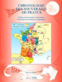 Chronologie des souverains de France : tableau chronologique et dynastique : chefs d'Etat des Romains à la République